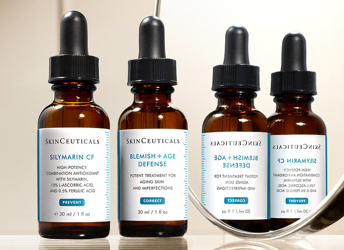 collaborating with Skinceuticals